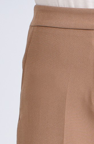 Pantalon Haute Taille avec Poches 1738-04 Camel 1738-04