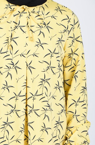 A Pleat Dress 1380-01 Yellow 1380-01