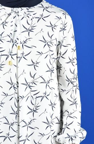 A Pleat Dress 1380-02 Ecru 1380-02