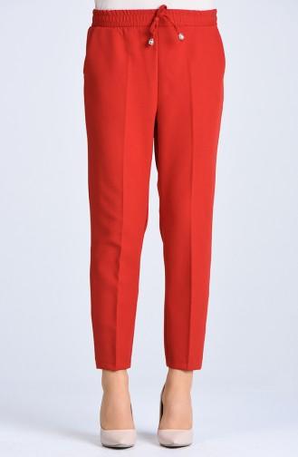 Pantalon Taille Élastique 4088-06 Brique 4088-06