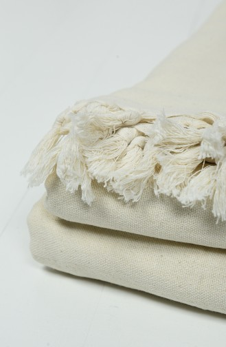 Cream Bed Cover Set 10001-01