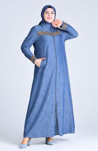 Abayas Bleu Marine 1317-01