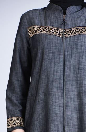 Abayas Noir 1317-02