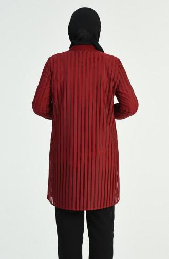 طقم أحمر كلاريت 1278-06