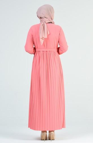 Pink İslamitische Jurk 8022-05