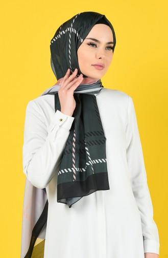 Dark gray Sjaal 95337-07