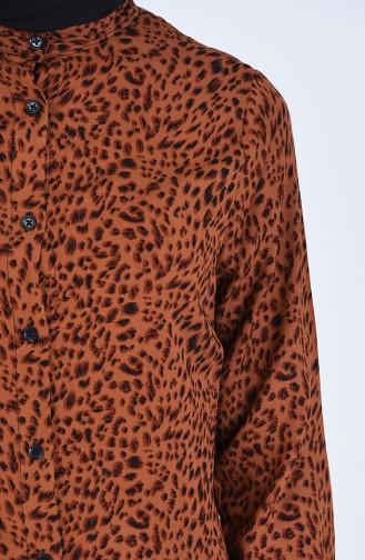 Tunique Couleur Brun 6453-01