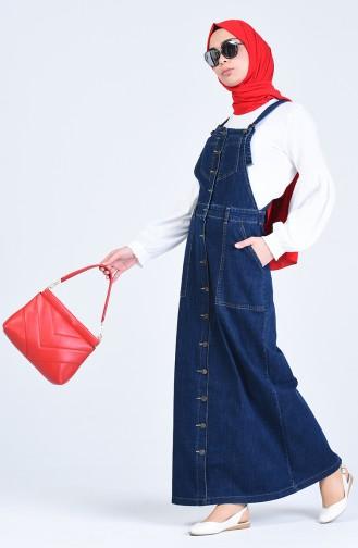 robe sans manche Bleu Marine 3636-01