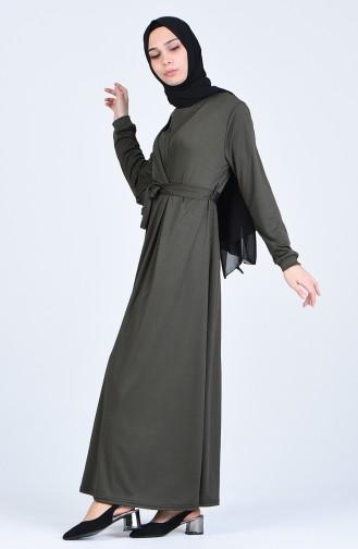 Robe Hijab Khaki 8003-03