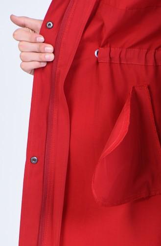 Claret Red Trenchcoat 6093-01