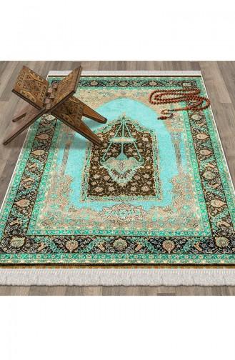 Green Praying Carpet 1006