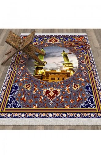Turquoise Praying Carpet 1018