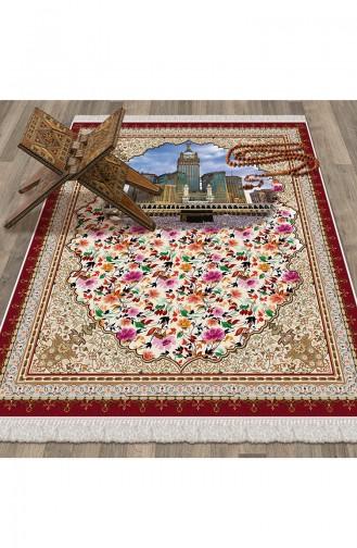 Red Praying Carpet 1021
