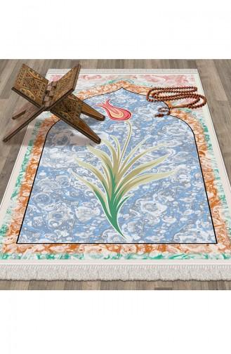 Tapis de Prière Turquoise 1035
