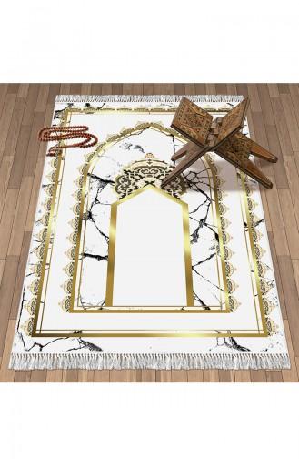 Tapis de Prière Blanc 1093