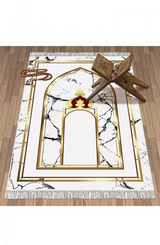 Tapis de Prière Blanc 1094