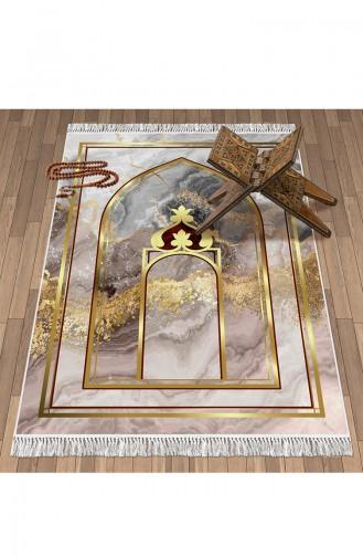 Tapis de Prière Beige 1097