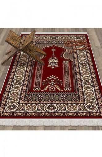 Tapis de Prière Rouge 1026