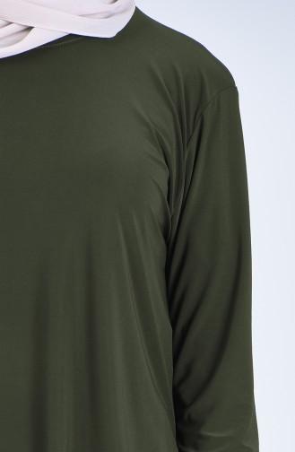 Tunik Etek İkili Takım 5303-03 Haki
