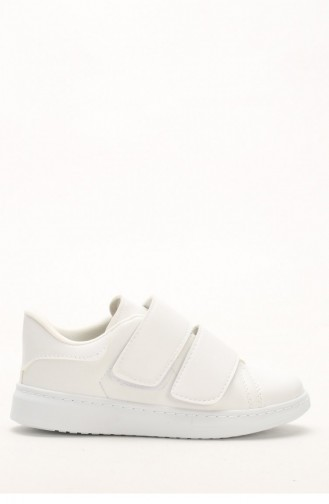 White Sport Shoes 1000-03