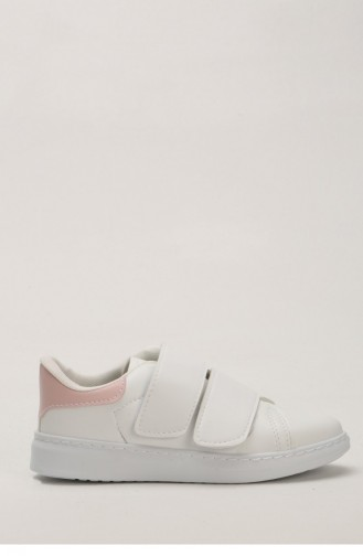 White Sport Shoes 1000-04