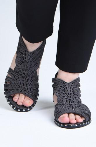 Sandales D`été Fumé 0008-02