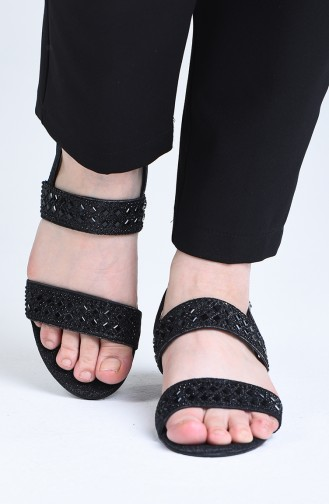 Sandales D`été Noir 0512-01