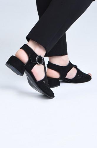 Chaussures a Talons Noir 0519-01