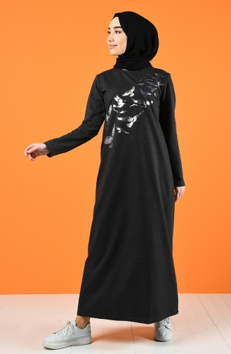 Robe Hijab Antracite 5042-12