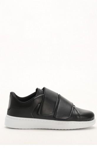 Black Sport Shoes 1000-02