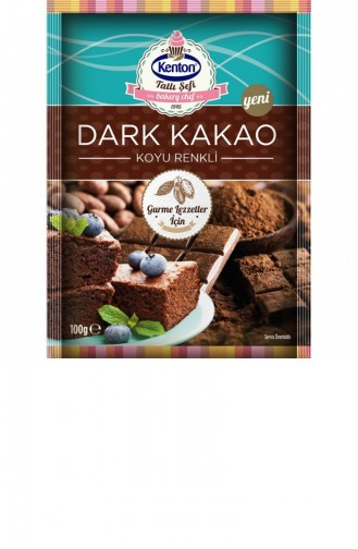 Kenton 100Gr Dark Cacao 1 Paquet 1203721