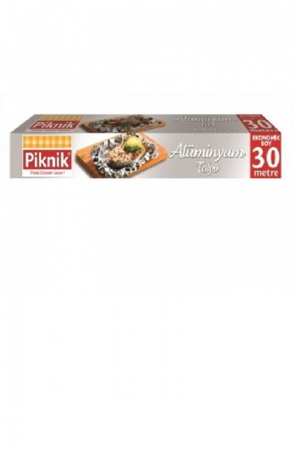 Piknik Papier d aluminium d emballage 30 mètres 1300373