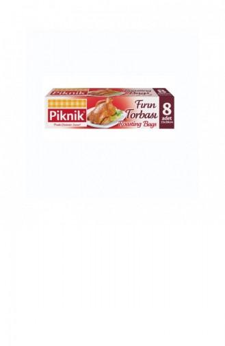 Piknik Emballage Boîte de Sac de Four Ignifuge 8 Pièces 1300370
