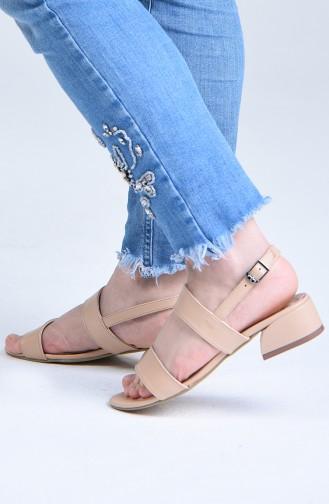 Chaussures a Talons Couleur de teint 0511-03