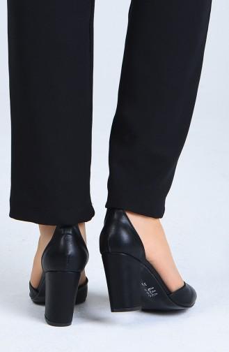 Chaussures a Talons Noir 1101-06