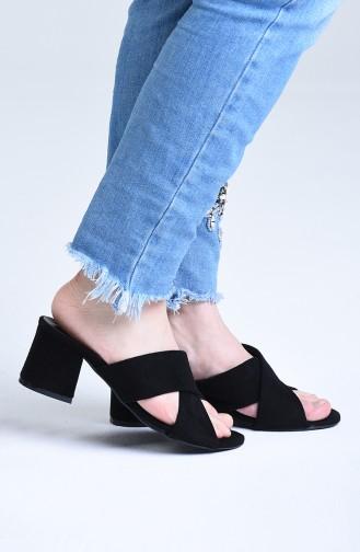 Chaussures a Talons Noir 9100-06