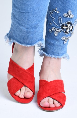 Chaussures a Talons Rouge 9100-07