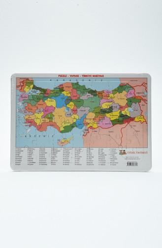Puzzle 12-Türkiye Haritası 07