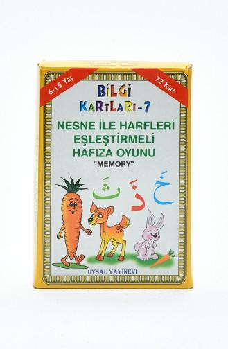 Bilgi ve Oyun Kartları Kuran Elifbası ile Nesneleri Eşleştirme Oyunu 5 yaş ve Üstü 24 24