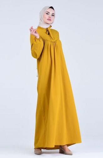 Senf Hijap Kleider 1384-08