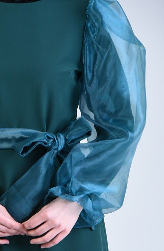 Robe a Ceinture 60119-05 Vert emeraude 60119-05