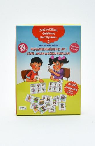 Zeka ve Dikkat Geliştirme İslami Kart Oyunları-5 Hadislerle Değerler Eğitimi 236 236