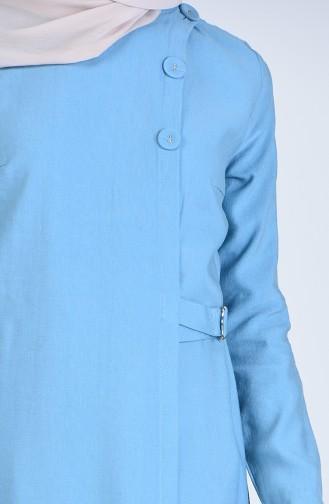 Abayas Bleu menthe 6854-04