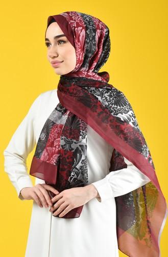 Dark Claret Red Sjaal 95344-02