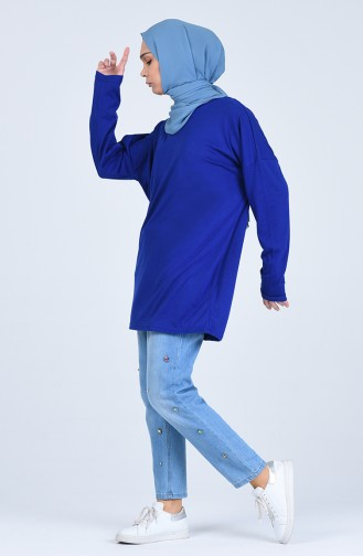 قميص رياضي أزرق 8135-11