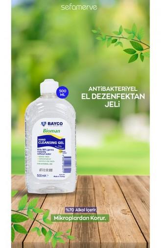 Bioman 70 IPA Gliserinli El Temizleme Jeli 9247-01 500 ml