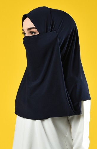 Navy Blue Sjaal 1100-05