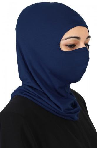 Bonnet Couvrant le Visage TB0002-01 Bleu Marine 0002-01