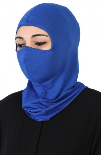 Bonnet Couvrant le Visage TB0002-04 Bleu Roi 0002-04