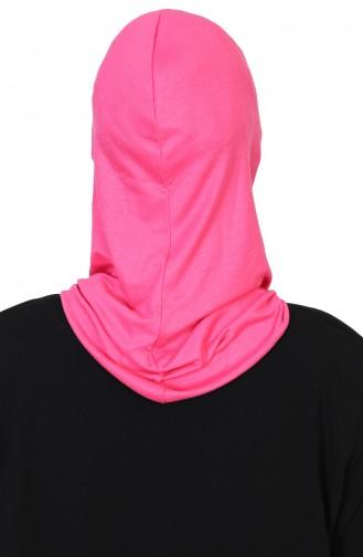 Bedeckendes Gesicht, gekämmter Bonnet  TB0002-10 Fuchsia 0002-10